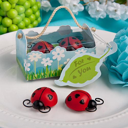 Ladybug Magnet Wedding Favors